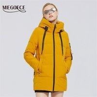 Miegofce Yeni kadın pamuk giyim kapüşonlu reep sıcak rüzgar geçirmez kış ceket kadın giyim Parkas Y201012