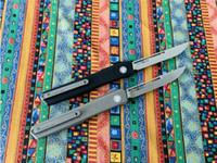 Combate Facas CNC SLM Dupla Ação Faca automática BM 3310 3400 UT85 Bounty Hunter máfia italiana Camping Folding Tactical EDC Pocket Knife