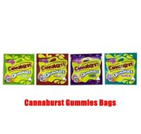 Nuovo Candy Sacchetti per imballaggio Packaging 500mg Tipi vuoti Smell 4 Cannaburst Sour Edibles Gummmies Cannaburst Gushers commestibile pGVde Proof Mylar