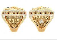 Raptors 2018 2019 농구 챔피언 쉽 반지 기념품 팬 선물 도매 2020 드롭 배송 크기 8 9 10 11 12 13 14