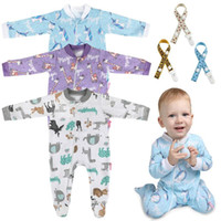 6 pcs set Baby Clothes Set Newborn Baby Long- Sleeved Romper ...
