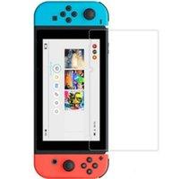 Película protectora de protector de pantalla de vidrio templado de primera calidad para Nintendo Switch Lite Sin paquete de venta al por menor