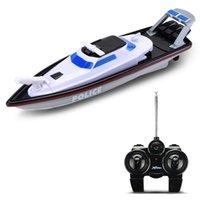 XQ 1/28 top venda 2.4g barco de controle remoto de rádio para pesca com tiro de água esporte rc brinquedos de barco para crianças crianças adultos 201204