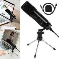 USB Mikrofon PC Kondenser Mikrofon Vokalleri Kayıt Stüdyosu Youtube Video Skype Sohbet Oyunu Podcast1