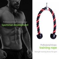 Ensemble de bras coloré de 7 pièces Biceps Crowstring Down Training Triceps Exerciseur Gymnase Tension Tension Corde Portable Equipement de remise en forme