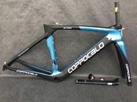 جديد الكربون الطريق الإطار coppocalo p05 اللون الكربون دراجة الإطار T1000 ud سباق الدراجة إطارات