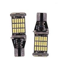 Luces de emergencia 2x T15 W16W 45 SMD 4014 LED Coche Atrás Atrás Bombillas 6000k White1