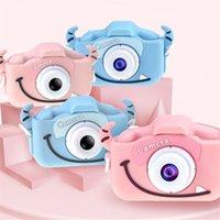 Bambini Bambini Camera digitale 20MP 1080P Videocamera video Videocamera da 2,0 pollici IPS Schermo Dual Camera Lenti Anti-Drop Giocattoli per bambini Regalo 201214