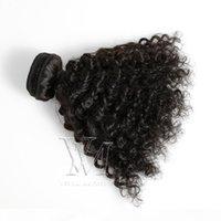 Chegada nova Mongólia Kinky Curly Virgin Hair 1 Bundle 4A 4B 4C 3A 3B 3C 8-30 polegadas Cabelo Weave Extensões