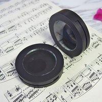 20pcs / Lot 59mm Пустой черные Краснеют компакты с Clear Skylight, DIY Пластикового Eyeshadow пудреницей, Top Grade губной помадой подпакет