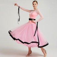 Desgaste de la etapa mujer salón de balones vestidos de vals baile de la competencia de baile de la competencia de baile de la competencia del traje español