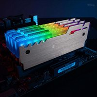 Ventilatori Coolingings Jonsbo NC-3 2 PZ RAM RAM RAMI RAGAZZAMENTO RADIATORE 5V 3PIN ARGB Light Control Desktop Memory Memory Refrecting Heat Dissipation Pad Vest1