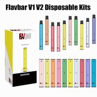 Authentic Flavbar V1 V2 POD desechable Kit de dispositivo 300 1000 Puffs 650mAh 2.8ml PODS PERSULTED VAPE VACE PEN Plus XXL 100% original DHL gratis
