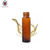 فريشيب 20 قطع 10 ملليلتر العنبر سميكة لفة على زجاجة الأسطوانة ل زجاجة العطور الزيوت الزيوت العطرية