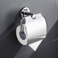 Alta calidad Sus304 cubierta de acero inoxidable soporte de papel higiénico soporte de pared soporte de tejido soporte de papel accesorios de baño