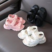Sandales Enfants Summer Shoes Kids for Boy Beach Respirant Fuite des orteils Casual Garçons Non-Slip SX4871