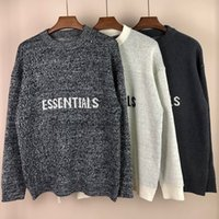 FOG FEAR OF GOD ESSENTIALS Designer Sweaters Mens Long Sleeve Autumn Winter Luxury Clothing Embroidery Letter Pullover Sweater Coat Jumper