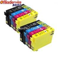 T3473 T3475 34xL Cartuccia d'inchiostro compatibile per Workforce Pro WF-3720 WF-3725 Printer1 Cartucce
