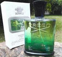 Nuevo Credo Irlandés Verde para Hombres Colonia 120ml Perfume Spray Con Tiempo Duradero Largo Olor Calidad Alta Capacidad de Fragancia Capacidad verde
