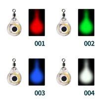 LED pesci occhio esche pesca esca luce plastica impermeabile lampade bagliore multi colore all'aperto cerchio subacqueo 3 5xh l2