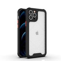 Para Samsung A12 5G A32 A02S A52 A72 caso de telefone celular respirável caso PC TPU Case com proteção de câmera capa de volta móvel B