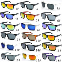 Promoción Gafas de sol HOMBRES Hombres Diseñador de moda Lente de espejo cuadrado Gafas de sol Unisex Estilo clásico para mujeres UV400 Protección Lente 10pcs