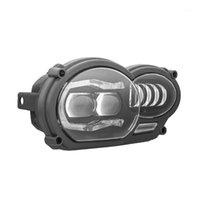 1 PCS para 2005 - 2012 R1200GS / 2006 -2013 R1200GS LED Faros LED y cubierta protectora 2020 Nuevo producto (Fit Oil Cooler) 1