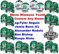 Mens personalizado Dallas Stars Jerseys Denis Gurianov Jersey Martin Hanzal Mattias Janmark Joe Pavelski Corey Perry Ice Hockey Jerseys costurado