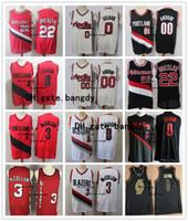 Vintage 0 Damian Lillard Herren PortlandWegBlazer 00 Carmelo Anthony C.J. McCollum 3 Vintage 22 Clyde Drexler Basketball Jersey