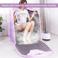 Steam Sauna Tent Portable Spa Room Home Bengifial Full Body Slipping Detox Therapy Steam Fold Sauna Cabin1