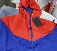 남성 활성 재킷 봄 의류 colorblock 재킷을 남자 캐주얼 지퍼 윈드 브레이커 스포츠 후드 2020 새로운 hiph 품질 도매