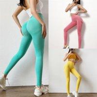 Uey Donne Donna Pantaloncini Yoga Pantaloni Yoga Sport Push Leggings Yoga Collant Tights Gym Plus Size Petite Up Pant per l'esercizio caldo Fitness a vita alta