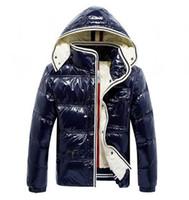2020 Yüksek Kaliteli Markalar Sıcak Kayak Kış Ceket Erkek Tasarımcı Coat Nakış Ceketler Erkekler Anorak yastıklı Parkas Kalın Aşağı Ceket