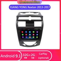 Multimedia-Player Android 9.1 für Ssang Yong Rexton 2013-2020 Auto GPS-Navigation WiFi Bluetooth-Träger Lenkrad-Steuerung1