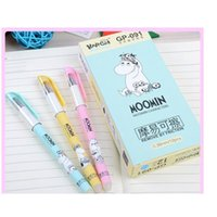 Business & Industrialwholesale- Erasable Gel Moomin Blue Colored Kawaii Gift Gel-Ink Pens For Writing Cute Stationery Office School Supplies