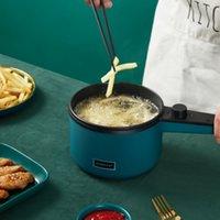 Mini frigideira MultiCooker Cozinha Robô multifuncional integrado pequeno potenciômetro quente domicílio elétrico cozinhar vasos