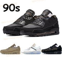 검정, 흰색 사막 야외 CHAUSSURES 광석 남성 여성 스포츠 트레이너 신발을 실행하는 2020 새로운 흰색의 X 90 년대 스타일리스트 쿠션 운동화 망