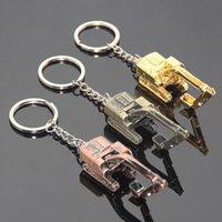 Creative Liga 3D Escavadora Keychain Acessórios Pendentes Empresa Publicidade Atividades Pequenos Presentes