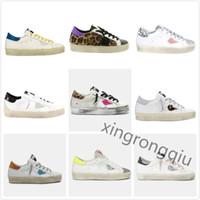 Italia Marca Deluxe HI HI STAR Sneakers Golden Classic Doble Altura Fondo Star Do-Old Sucio Zapato Ganso Designer Hombre Mujer Zapatos Best Calidad