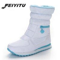 Botas fêmea feminina inverno quente prata branco senhoras liso casual casual tornozelo bota de neve com sapata de pêlo impermeável das mulheres falsas