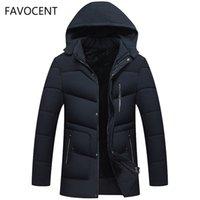 Favocent Хорошее качество Мужская куртка супер теплые густые мужские зимние парки длинные пальто с капюшоном для отдыха мужчины Parka Plus Plus размер 5xL 201224