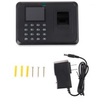 Fingerprint Access Control Frequence Machine LCD Display USB System Time Orologio Gestore Check-in registratore1