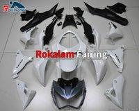Per Kawasaki Z800 2013 2014 2015 2016 Body Kit Z 800 13 14 15 16 Bianco Black Motorbike Fairing Kit (stampaggio a iniezione)