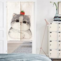 Door Curtain Partition Curtain Cartoon Room Decoration Bedro...