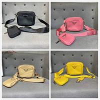 Fashionista Designer Luxo Nylon Saco De Ombro Sacos Bolsas Bolsas Cross-Body Bag Message Bolsa Pequena Bolsa 3 em 1 Senhora Bags
