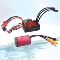 Waterdichte COMBO 2030 6500KV 7200KV 4500KV 2S Brushless Motor W / 25A ESC voor 1:20 1:18 GTR / Lexus RC Drift Racing Car