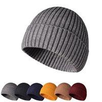 NEW 15pcs Winter-Strickmütze Erwachsenen warme Mütze im Freien brimless Kappe Straße Hip-Hop-Kappe für Erwachsene im Freien warme Abdeckung HAT Partyhut T500407