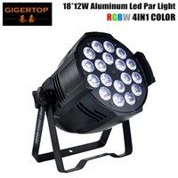 المهنية RGBW 4IN1 18x12W LED الخفيفة الاسمية 25 درجة كبيرة عدسة 4/8 قناة 90-240V DMX512 على نادي الحزب بار DJ المرحلة ديسكو الزفاف