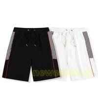 2020 дизайнерские шорты спортивные штаны мужские женские плоские красные буквы вышивка лоскутное лето брюки мода повседневные хлопковые карманные бриджи
