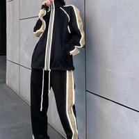 Diseñador para hombre chándal chándal de lujo para hombres sudaderas de manga larga moda bolsillo de baloncesto corriendo casual hombre ropa traje pantalones chaqueta de dos piezas mujer deportes traje